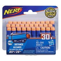 Refil com 30 Dardos para Lançador Nerf Elite da Hasbro A0351 -
