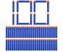 Refil dardos Ark Toys n strike Kit 100 Unidades Azul. - Art Brinks
