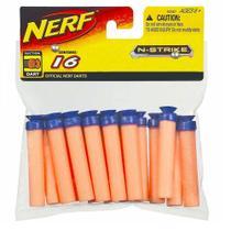 Refil Dardos de Sucção Nerf 16 unidades - Hasbro -