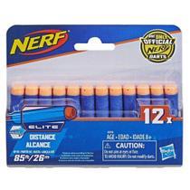 Refil Dardos Nerf Hasbro Elite 12 Unidades -