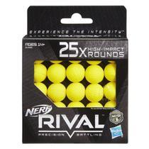 Refil de 25 Projéteis Nerf Rival - Hasbro B1589 -