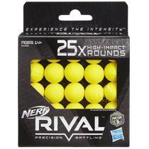 Refil de Bolinhas Nerf Rival 25 Unidades - Hasbro B1589 -