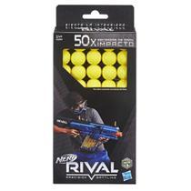 Refil de Bolinhas Nerf Rival 50 Unidades - Hasbro B3868 -