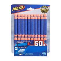 Refil de Dardos Nerf - Elite - Pack com 50 - Hasbro -