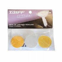 Refil de Lixa para Pedicuro com 10 Unidades Taiff -