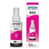 Refil de Tinta Magenta para Impressora L110/L210/L355/L365/L455/L555/L565 - Epson ORIGINAL -