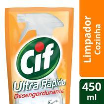 Refil Desengordurante Cif Ultra Rapido 450ml -