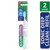 Refil Escova Dental Deep Clean Sonic Power - 2 Unidades (GUM) -