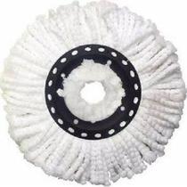 Refil esfregao spin mop balde magico limpeza pratica universal para todas as marcas - Makeda