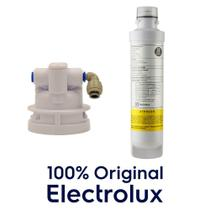 Refil Filtro com Base Cabeçote para Purificador de Água Electrolux PE11B PE11X PC41B PC41X PH41B PH41X -