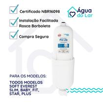Refil Filtro Compatível Soft Everest Slim, Baby, Fit, Star, Plus - Pró Life Certificado - Planeta Água