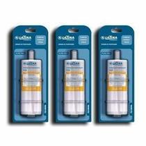 Refil / Filtro P655 Para Purificador de Água LATINA - KIT Com 3 (Original) -