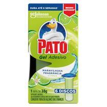 Refil Gel Adesivo Sanitário Pato Citrus 38g -