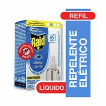 Refil Inseticida Eletrico Liquido 45 Noites 32,9ml 1 UN Raid -