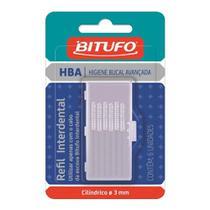Refil Interdental Bitufo Interclean Cilindrica 3mm c/6 unid -
