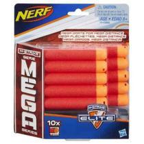 Refil Lançador Nerf Mega Com 10 Unidades A4368 - Hasbro -