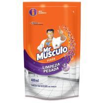 Refil Limpador Uso Geral Mr Músculo para Pisos Limpeza Pesada Lavanda 400ml -