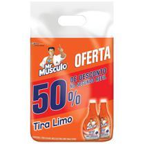 Refil Limpador Uso Geral Mr Músculo Tira-Limo 500ml - 2 Unidades -