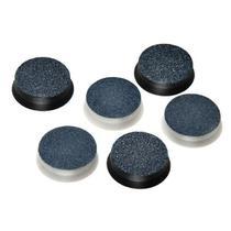 Refil lixa de pé Mega Bell descartável para pedicuro c/12 un (6 lixas finas e 6 grossas) -