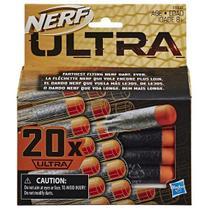 Refil NERF Dardos ULTRA 20X Hasbro E6600 14946 -