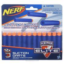 Refil Nerf EL 12 Dardos Sucção A5334 - Hasbro -