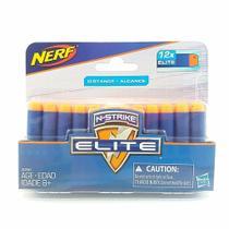 Refil Nerf Elite - 12 Dardos HASBRO -