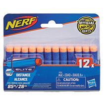 Refil Nerf Elite com 12 Dardos Hasbro A0350 -