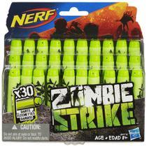 Refil Nerf Zombie 30 Dardos - Hasbro -