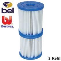 Refil para Bomba Filtrante Bel e Bestway 1093 220v 2unidades - Belfix