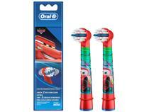 Refil para Escova de Dentes Elétrica Infantil - Oral-B Disney Pixar Cars 2 Unidades
