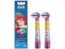 Refil para Escova de Dentes Elétrica Infantil - Oral-B Disney Princess 2 Unidades