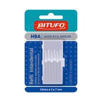 Refil para Escova Dental Bitufo Cônico 6 Unidades -