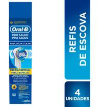 Refil para Escova Dental Elétrica Oral-B Pro Saúde Precision Clean - Oral B