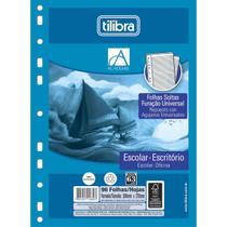 Refil Tiliflex Folhas Soltas com Furação Universal para Caderno Argolado Universitário Académie 96 Folhas - Academie