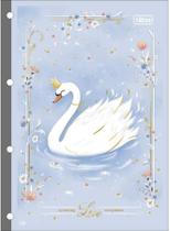Refil tiliflex para caderno argolado universitário royal 80 folhas - Tilibra