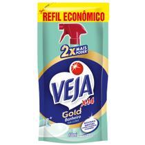 Refil Veja Gold Banheiro X14 Sem Cloro Sache 400ml -