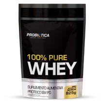 Refil Whey 100% Puro 825g Probiotica Sabor Baunilha - Probiótica
