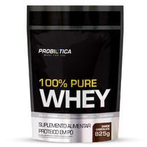 Refil Whey 100% Puro 825g Probiotica Vários Sabores -