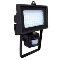 Refletor com sensor 60 leds 6w bivolt - dni -