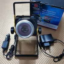 Refletor de Emergência Portátil Recarregável com LED COB COM ZOOM - Wd