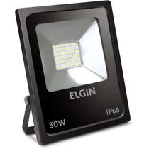 Refletor de LED 30W 6500K Bivolt Preto (7897013551079) - Elgin