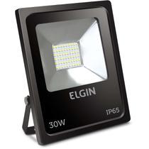 Refletor de LED 30W 6500K Bivolt Preto - Elgin