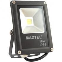 Refletor de Led Maxtel 10W Branco Bivolt Holofote IP 66 -