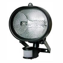 Refletor Holofote Halógeno 500W Bivolt com Sensor de Presença e Fotocélula  DNI 6018 - Key West