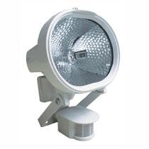 Refletor Holofote Halógeno 500W Bivolt com Sensor de Presença e Fotocélula  DNI 6019 - Key west
