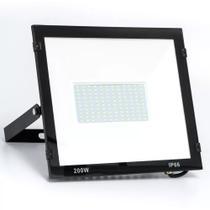 Refletor Holofote Led 200w Smd Branco Frio Bivolt Ip65 Iluminação Residencial Jardim - Importado