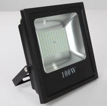 Refletor Holofote Led  Smd 100 watts IP65 7000 Lumens 6500k Bi-volt - Diversos