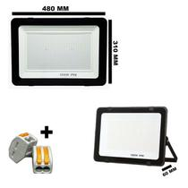 Refletor holofote led smd 1000w 6500k (branco frio) bivolt ip66 - Max