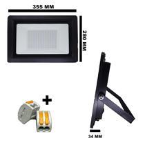 REFLETOR HOLOFOTE LED SMD 300W 6000K (BRANCO FRIO) 100a240V IP66 - Max