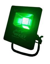 Refletor Holofote Verde de 10W - DNI 6052 - Key west